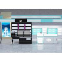 Various Shapes Cosmetic Retail Display , Cosmetic Shop Interior Design For Specialty Stores