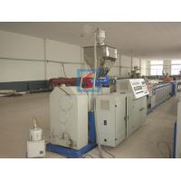 PLC Control System Wood Plastic Profile Extrusion Equipment With CE Certified