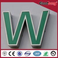 Custom advertising 3d led light up alphabet letter/world best selling products