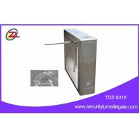 Subway security tripod turnstile gate with fingerprint machine