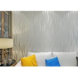 China Nonwoven Foam Modern Self Adhesive Wallpaper , 3D Peel And Stick Wall Coverings on sale
