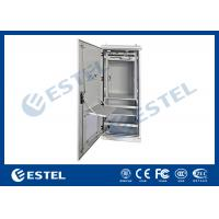 Double Wall Aluminum AL5052 Outdoor Power Cabinet / Outdoor Telecom Cabinet With SNMP Monitoring