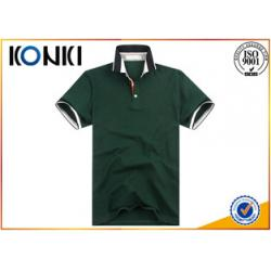 China Slim Fit Short Sleeved Polo Shirts For Men Fashion Design Uniform on sale