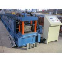 Galvanized Metal Purlin Roll Forming Machine , Door Frame Roll Forming Machine