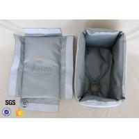 Removable Fiberglass Insulation Jacket 300℃ 25MM Heat Resistant Actuator Cover