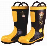 Marine SOLAS / MED CE Cerificate Rubber Fireman Boots Harvik 9687L