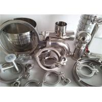 304 316 Stainless Steel Pipe Fittings For Food Industry / Chemistry Industry