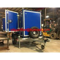 Trolley Industrial Waste Transformer Oil Purification Filtration Machine, onsite transformer oil treatment purifier