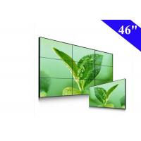 46 inch video wall with 5.3mm bezel screen lcd video wall for advertising