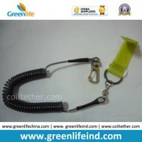 Retractable Spring Tether Safety Line W/Fastening Tape