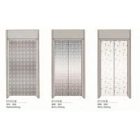Stainless Steel Elevator Spare Parts Silver Elevator Door 2400mm Height