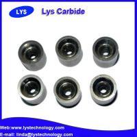Wear resistant tungsten carbide flat wire drawing dies