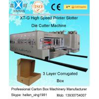 High-speed Pringting Slotting Die-cutting Carton Machines