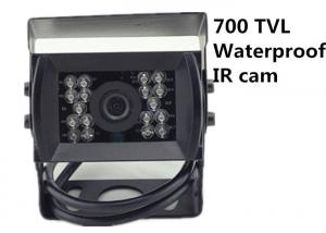 Commercial Grade Vehicle Mounted Cameras C801 IR 700 TVL Weatherproof Analog CCTV Cam