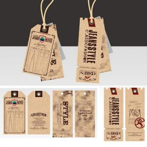 Cool Jeans Use Printed Hang Tags / Clothing Personalized Hang Tags ...