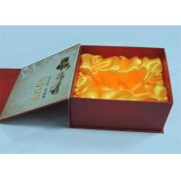 Electronic Products / Wine Printed Gift Boxes With Plastic Tray 250gram / 300gram