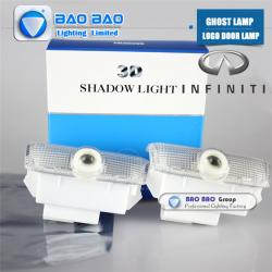 China Infiniti-BB0416 Top Quality 2014 Newest LED LOGO LAMP Ghost Lamp on sale