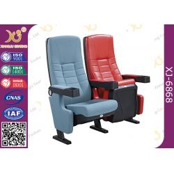 China High Back Movie Theater Chairs Genuine Leather Cinema Seats Sofa Ultra Strong on sale