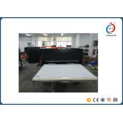 China Semi-automatic Pneumatic Double Station Large Format Heat Press Machine For Sportswear on sale