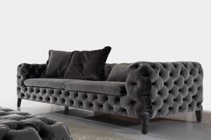 Modern fabric sofas chesterfield soft furniture for sale modern