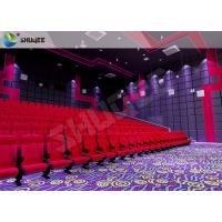 Theme Park Movie Theater Seats Sound Vibration Cinema JBL Speaker ISO Certification