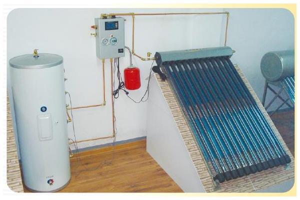 No copper coil low pressurized split balcony solar system supplier