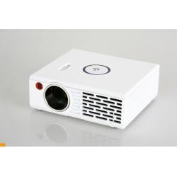 China 90 Lumens hd mini projectors 1024 * 768 Support DIVX XVID VOB MJPEG MPEG-1 DAT AVI MOV on sale