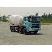 Big  Concrete Mixer Truck 16 cbm 8x4 drive mode