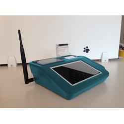 China PSAM Card Reader Touch Screen POS Monitor with Thermal Graphic Printer on sale