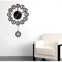 Black Design Vinyl Wall Sticker Clock 10A066 Numbers Wall Decoration
