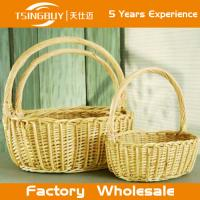100% nature handcraft rattan New Star Round Hand Woven Food Serving Baskets-Food Save Natural Wicker Bread Basket