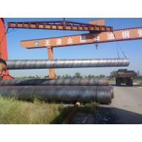 Black Painted API 5L Welded Steel Pipe Q235 , Q345 For Bridges And Tall Building