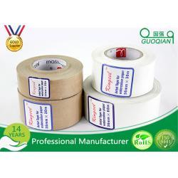 China Self Adhesive Custom Printed Kraft Tape Environment Protection on sale