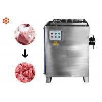 Small Electric Meat Processing Equipment / Meat Mincer Machine Stainless Steel 304 Material