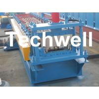 TW-65-400 Bemo Roof Panel Roll Forming Machine With 0 - 15m/min Speed