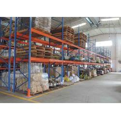 China Customized Q235B Heavy Beam Industrial Storage Rack With Powder Coated on sale