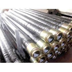 China Concrete Pump Parts Rubber Hose Steel Wire Braided Rubber Hose / Concrete Hose Pipes on sale