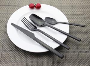China Newto NC333 YAYODA black flatware/dinnerware/colorful cutlery supplier