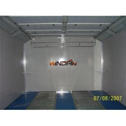 China 0.426mm Steel Skin Panel Auto Spray Booths Heat Insulation CE WD-904T on sale