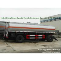 Manufactures high quality fuel tankers Pup Trailer  25000L Fuel Tank Full Trailer for sale WhatsApp:8615271357675