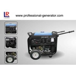 China Dual Voltage Unleaded Gasoline 5kVA Portable Inverter Generator Air - cooled OHV on sale
