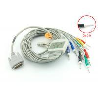EKG CABLE Medical Equipment Accessories 10 Leadwires IEC 4.7 K Ohm Resistance Standard