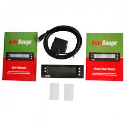 China Scangauge OBD2 AutoGauge 5 in 1 Vehicle Monitor Auto Gauge on sale