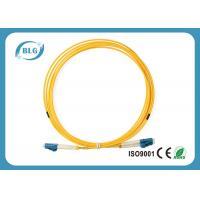 Duplex Single Mode To Multimode Fiber Patch Cord / Blue Fc To Lc Fiber Patch Cord