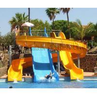 Water Park fiberglass open tube slide