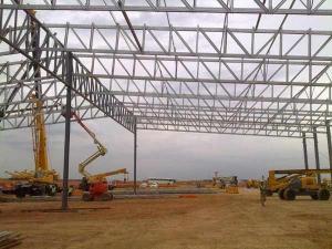 Long Span Galvanized Light Steel Framed Structure