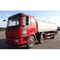 20T Diesel Crude Oil Tanker Truck 6×4 JIEFANG FAW 223hp 20CBM / Fuel Delivery Tanker