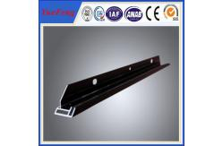 La Chine Cadre en aluminium noir anodisée et d'électrophorèse pour l'Assemblée solaire de module de picovolte fournisseur