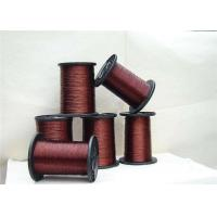 0.012 - 4.5mm Round Ultra Fine Magnet Wire , 24 Awg Copper Enameled Wire For Automation