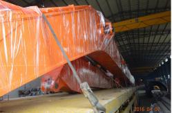 China 23 brazo articulado largo del alcance del excavador de Doosan DX700 del metro para el puerto de dragado Q345B + Q690D proveedor